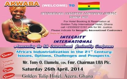 Ghana Conference/Award Dinner Nite
