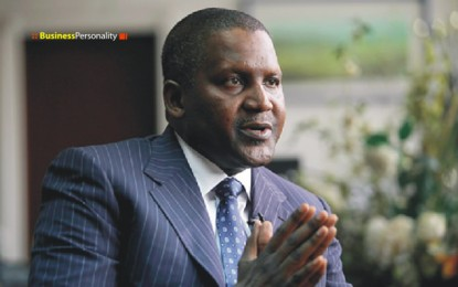 I started small as a trader in cement – Aliko Dangote, richest black person in the world