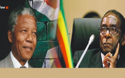 Between Mandela and Mugabe