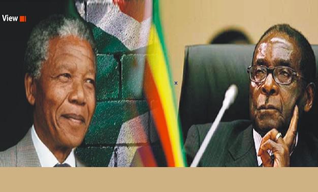 Between Mandela and Mugabe