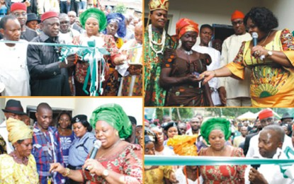 Imo First Lady Follows The Governor's Footsteps
