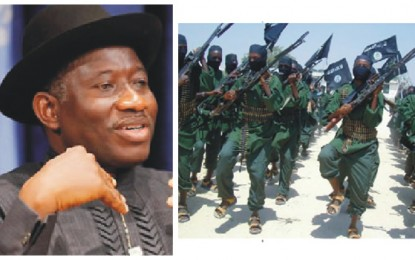 """Let's Unite Against Terrorism"" Jonathan seeks global support against Boko Haram"