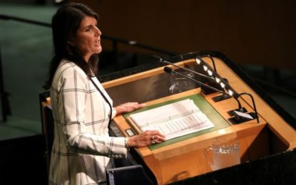 United States Withdraws From United Nations On Human Rights Council
